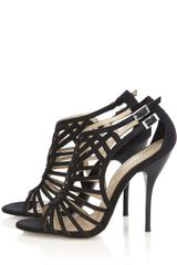 Karen Millen Graphic Artwork Sandal