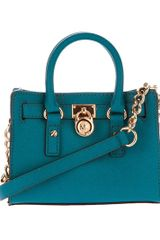 Michael Kors Cobalt Mini Hamilton Bag