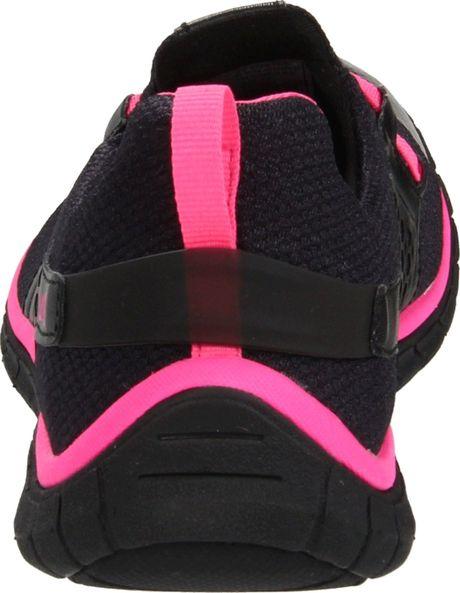 Ryka Ryka Womens Desire Running Shoe in Black (black/custom neon pink