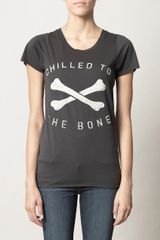 Zoe Karssen Chilled To The Bone T-shirt - Lyst