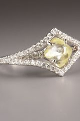 Diamond In The Rough Victorian Diamond Ring - Lyst