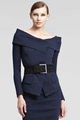 Donna Karan New York Wide Belt - Lyst