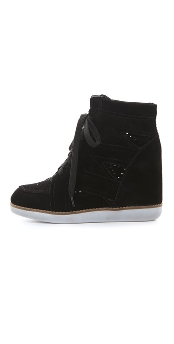 Lyst Jeffrey Campbell Venice Platform Sneakers In Black