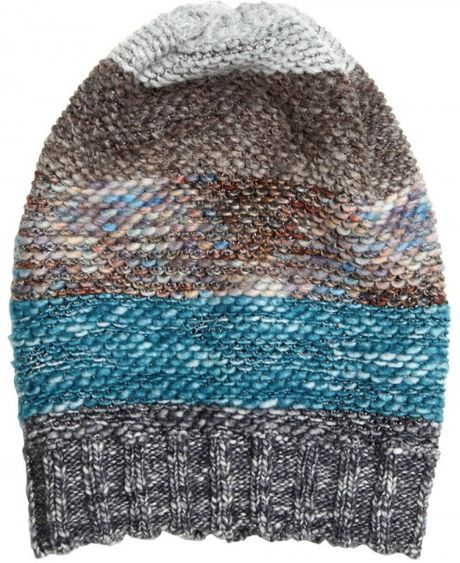 Missoni Blended Wool Knit Hat in Multicolor (multi)