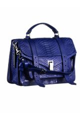 Proenza Schouler Ps1 Medium Python in Blue (purple+rain) - Lyst
