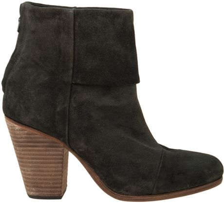 Rag & Bone Classic Newbury Boot in Black (charcoal) - Lyst