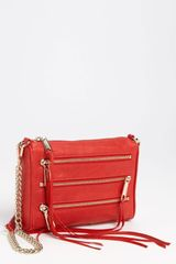 Rebecca Minkoff 5 Zip Mini Crossbody Clutch