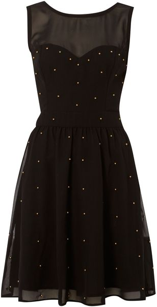 Therapy Embellished Bead Dress - Lyst