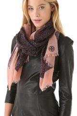 Tory Burch Dunraven Scarf in Multicolor (multi) - Lyst