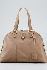 Yves Saint Laurent Muse Dome Tote Large - Lyst