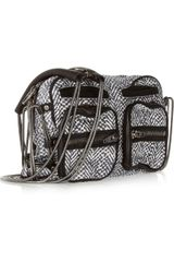 Alexander Wang Brenda Printed Leather Shoulder Bag in Gray (black) - Lyst