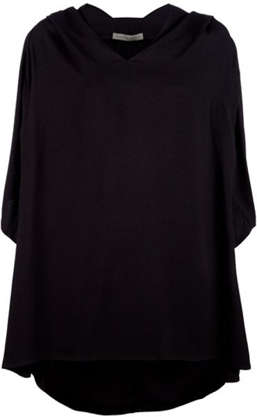 Balenciaga Tunic Top in Black - Lyst