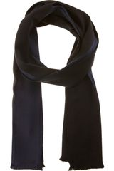 Balenciaga Colorblock Scarf in Black for Men (midnight) - Lyst