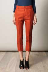 Boy by Band Of Outsiders Flannel Capri Trousers - Lyst