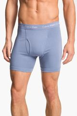 Calvin Klein Stretch Cotton Boxer Briefs - Lyst