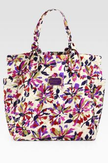 Marc By Marc Jacobs Pretty Printed Nylon Meduim Tate Tote - Lyst