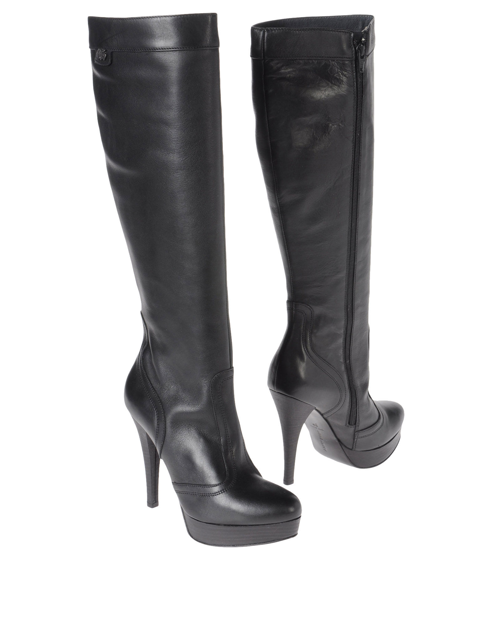 miss sixty high heeled boots in black lyst