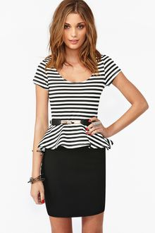 Nasty Gal Jailbreak Peplum Dress - Lyst