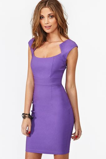 Nasty Gal Jagged Edges Dress - Lyst