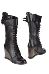 See By Chloé Highheeled Boots - Lyst