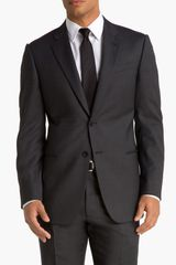 Armani Giorgio Trim Fit Wool Suit - Lyst