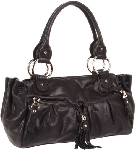 B. Makowsky B Makowsky Yvette Shoulderbag in Black