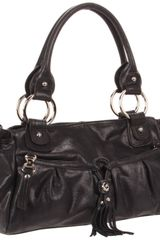 B. Makowsky B Makowsky Yvette Shoulderbag in Black - Lyst