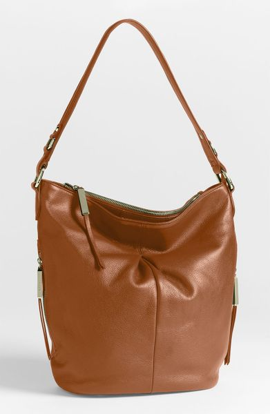 B. Makowsky Dunaway Hobo in Brown (maple) - Lyst