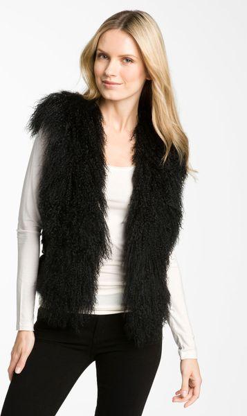 Elie Tahari Winter White Wool Coat