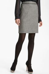 Halogen Two Tone Pencil Skirt - Lyst