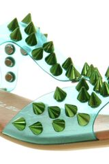 Jeffrey Campbell Sandal  in Green - Lyst