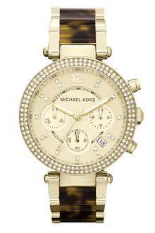 Michael by Michael Kors Michael Kors Parker Chronograph Watch - Lyst