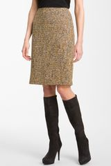 Nic + Zoe Tweed Pencil Skirt - Lyst