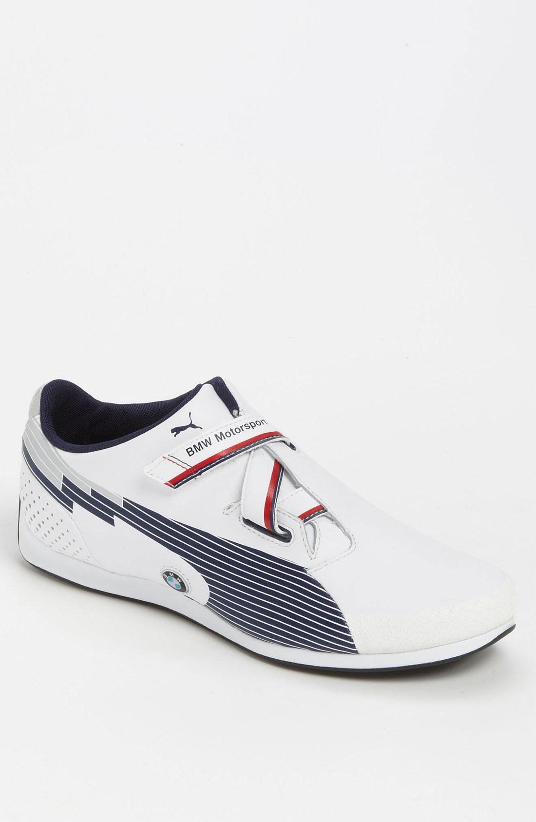 puma evo speed f1 bmw sneaker in white for men white. Black Bedroom Furniture Sets. Home Design Ideas