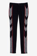 Rag & Bone Midrise Embroidered Skinny Jeans
