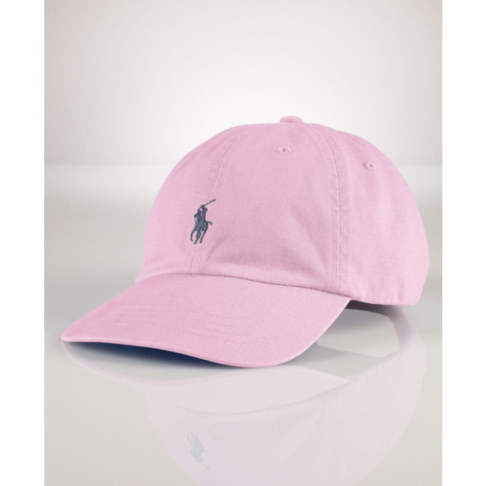 Lyst - Ralph Lauren Classic Sport Cap in Pink for Men d56ef091b1d