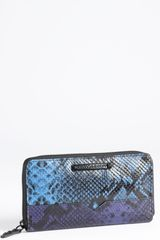 Rebecca Minkoff Zip Around Wallet - Lyst