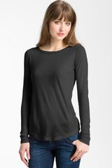 Stem Long Sleeve Bias Cut Top - Lyst