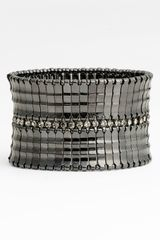 Tasha Metal Crystal Stretch Bracelet - Lyst