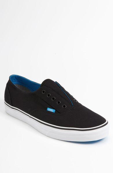 Vans Era Laceless Ca Sneaker in Black for Men | Lyst