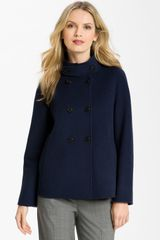 Weekend By Maxmara Double Breasted Coat - Lyst
