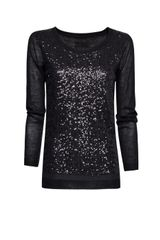 Mango Sequins Wool Jumper