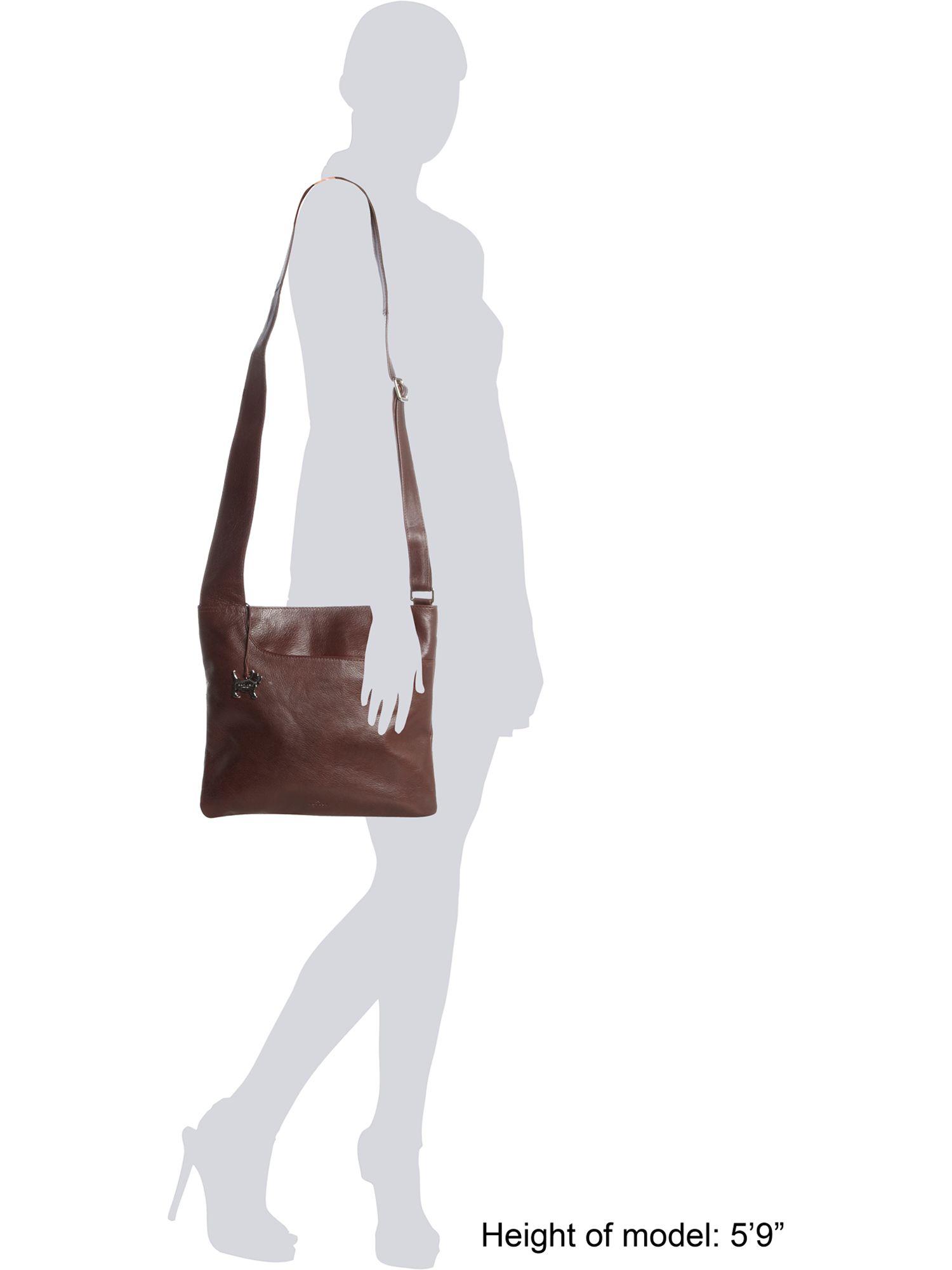 bff3d0f302 Radley Pocket Large Leather Across Body Bag Black - Best Model Bag 2018