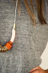 Alyson Fox Midsummer Collection Necklace in Orange - Lyst