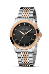 Gucci Gtimeless Stainless Steel and 18k Rose Gold Watch  - Lyst