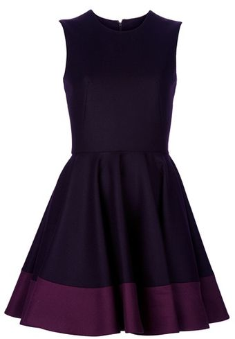 Alexander McQueen Flared Dress - Lyst