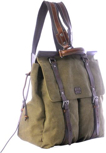 Dolce & Gabbana Washed Canvas Backpack - Lyst