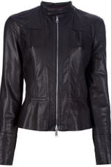 DSquared2 Lamb Skin Jacket - Lyst