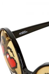 Jeremy Scott Emoticon Sunglasses in Black for Men - Lyst