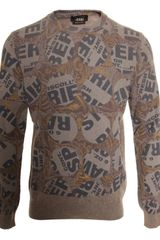 Marc Jacobs Paisley Circle Pullover  in Brown for Men - Lyst